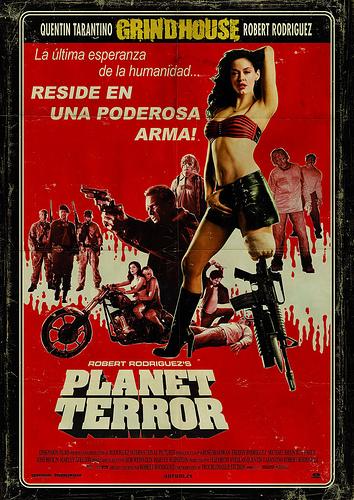 Cartel de Planet Terror para España
